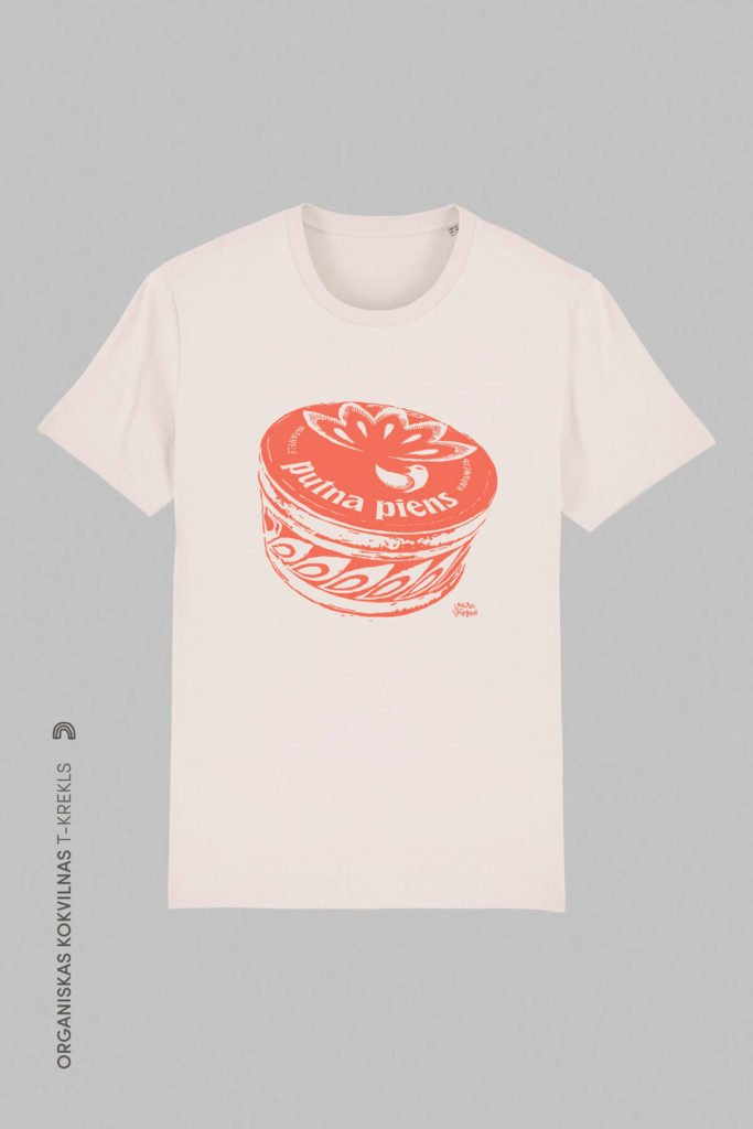 T-krekls Putna Piens Ledenes