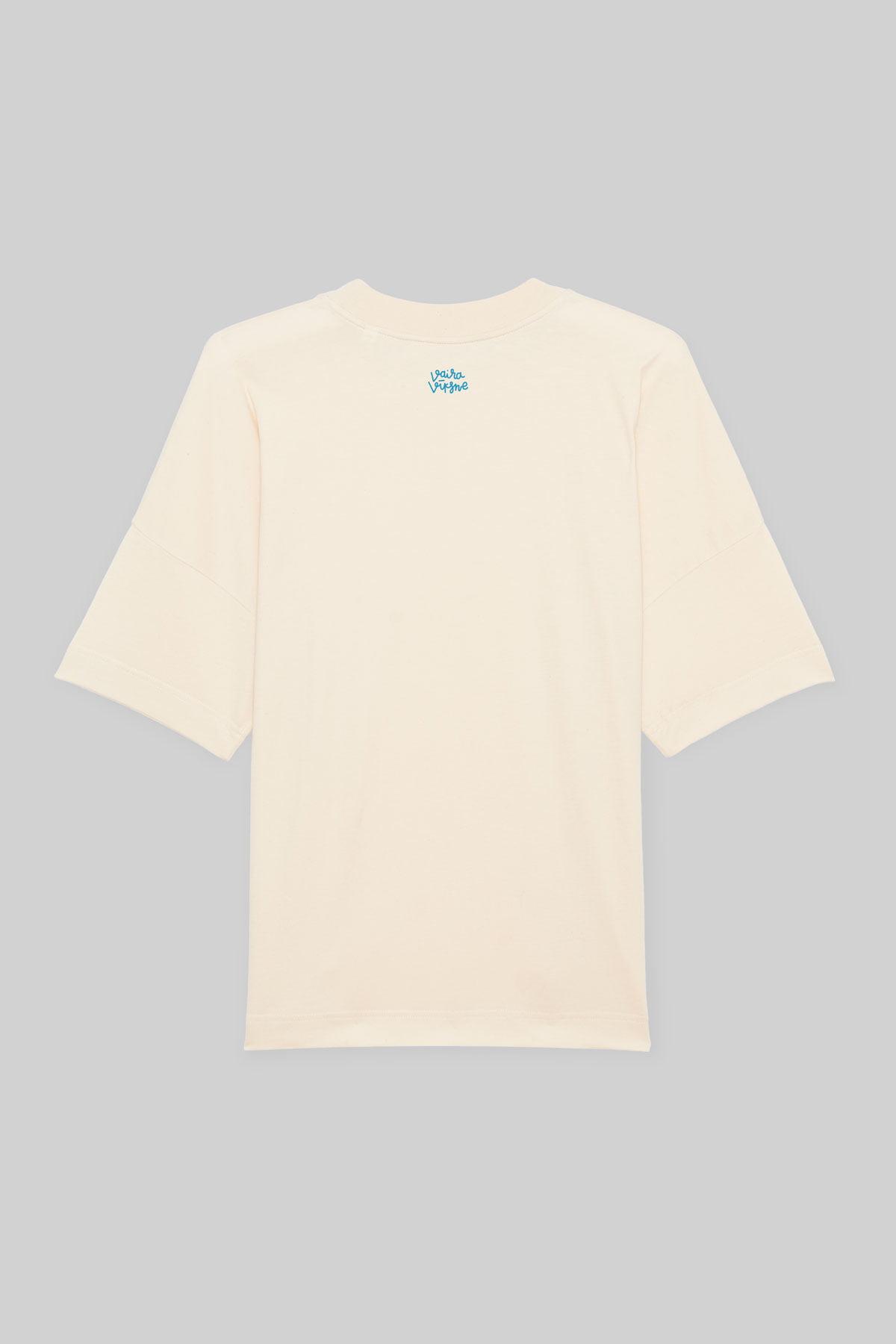 Oversized T-krekls Iebiezinātais Piens
