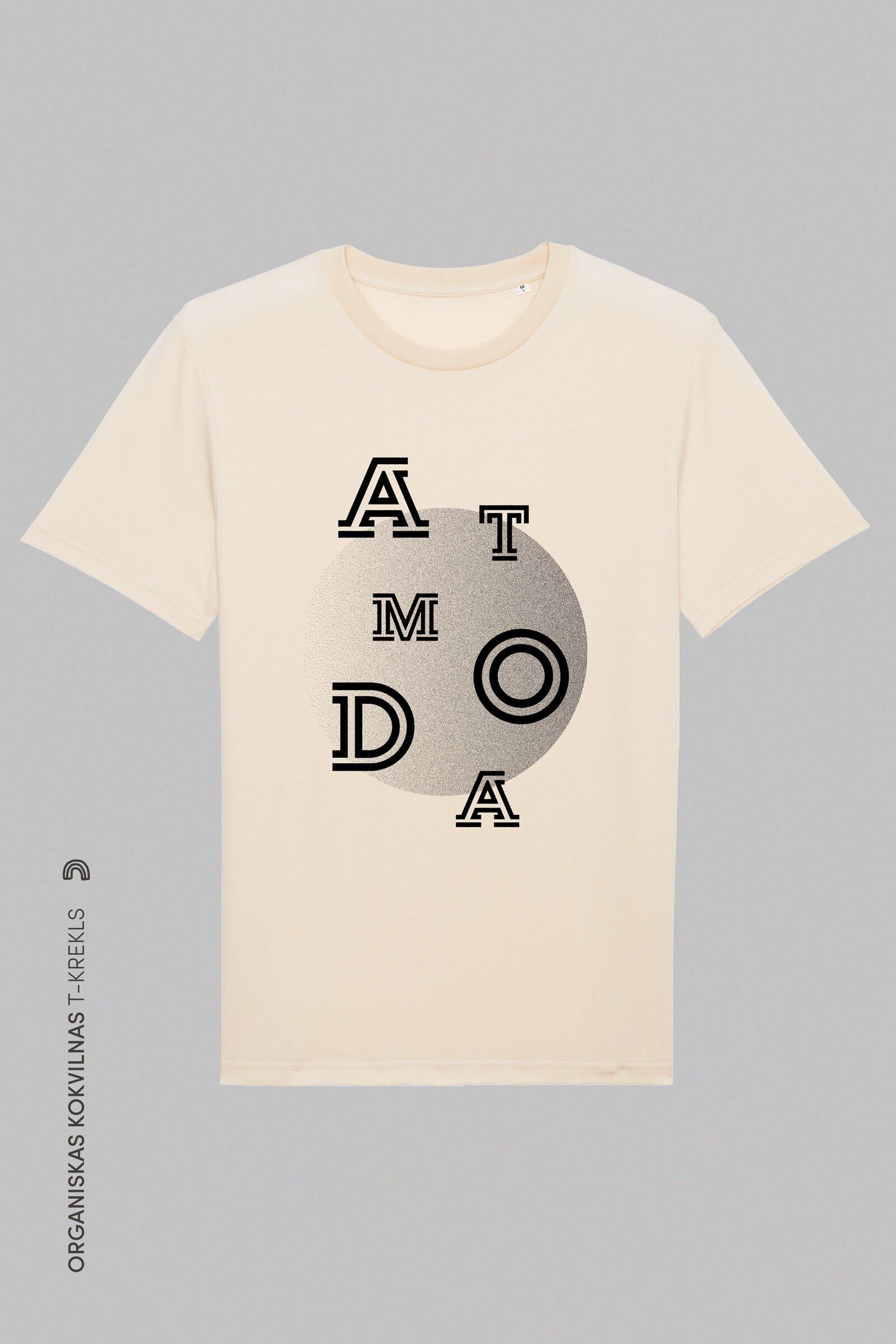 Organiskas Kokvilnas T-krekls Atmoda