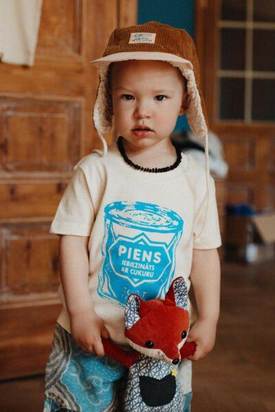 Bērnu T-krekls Iebiezinātais Piens
