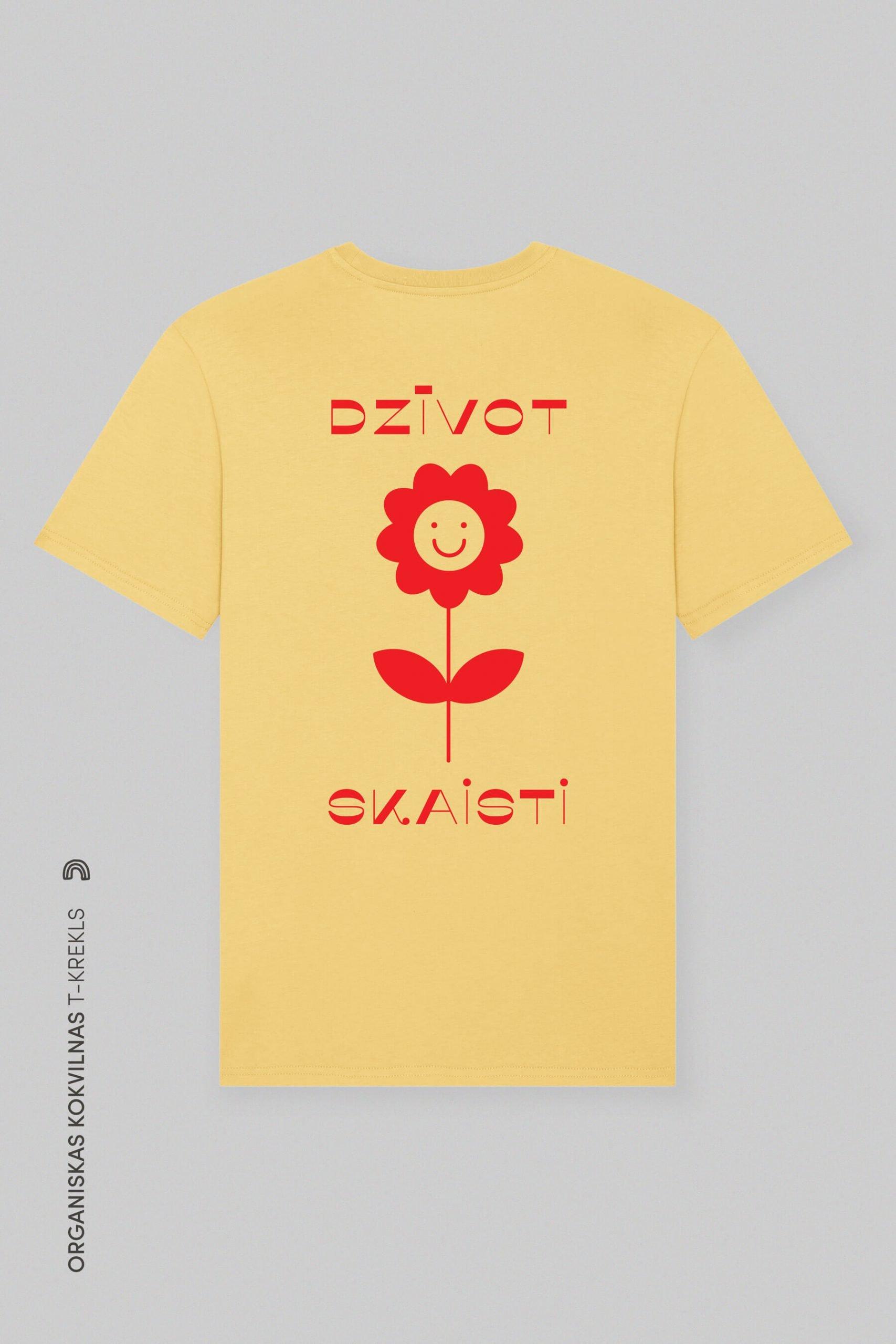 T-krekls Organiska Kokvilna